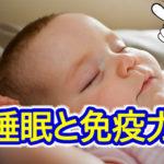 免疫力という最高の防御を身に付ける!大切なのは睡眠です!